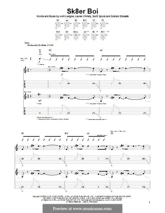 Sk8er Boi (Avril Lavigne) by G. Edwards, L. Christy, S. Spock on ...