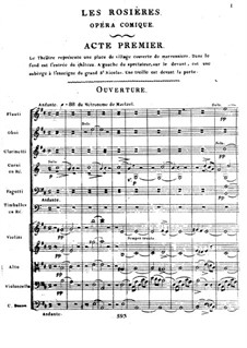 Les rosières: Overture by Ferdinand Herold