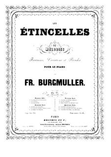 Fantasia on Cavatine by Bellini, Op.97: Fantasia on Cavatine by Bellini by Johann Friedrich Burgmüller