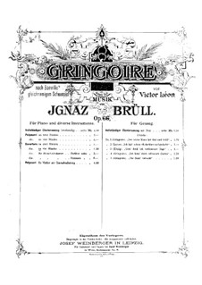 Overture to the Opera 'Gringoire', Op.66: Overture to the Opera 'Gringoire' by Ignaz Brüll