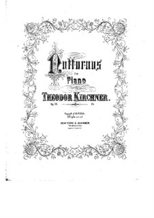 Four Nocturnes, Op.28: Four Nocturnes by Theodor Kirchner