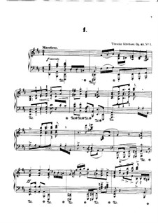 Four Polonaises, Op.43: Four Polonaises by Theodor Kirchner