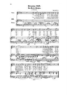 Five Songs, Op.23: All Songs by Halfdan Kjerulf