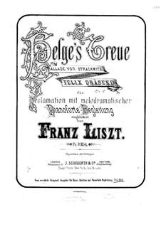 Helges Treue. Ballade, Op.1: Helges Treue. Ballade by Felix Draeseke