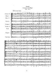 Organ Concerto in F Major, HWV 305: Organ Concerto in F Major by Georg Friedrich Händel
