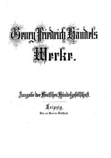Te Deum 'Utrecht', HWV 279: Te Deum 'Utrecht' by Georg Friedrich Händel