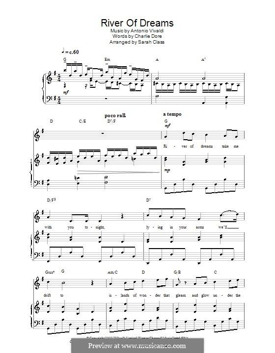 River of Dreams: River of Dreams by Antonio Vivaldi