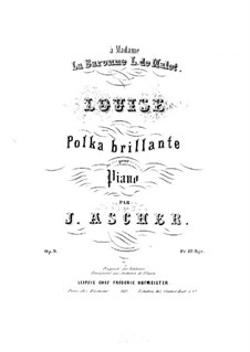 Louise, Op.9: Louise by Joseph Ascher