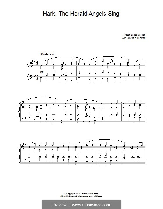 For piano: For a single performer by Felix Mendelssohn-Bartholdy
