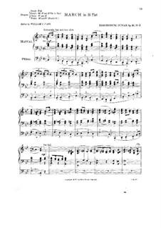 Marsch in B-Dur, Op.42 No.3: Marsch in B-Dur by William Edmondstoune Duncan