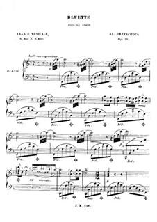 Bluette, Op.16: Bluette by Alexander Dreyschock