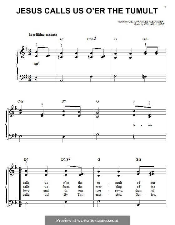 Jesus Call Us: Für Klavier by William Herbert Jude