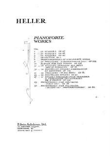 Album für die Jugend, Op.138: Vollsammlung by Stephen Heller