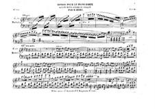 Rondo sur un motif favori du Chalet: Rondo sur un motif favori du Chalet by Henri Herz