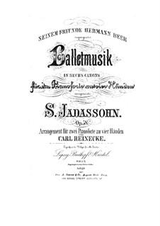 Ballettmusik in sechs Kanons, Op.58: Ballettmusik in sechs Kanons by Salomon Jadassohn
