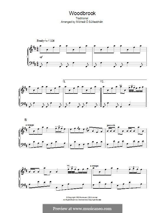 Woodbrook: Für Klavier by folklore