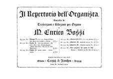 Sonate für Cembalo in c-Moll: Adagio und Allegro. Bearbeitung für Orgel by Baldassare Galuppi