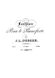 Fantasie in F-dur, Op.76 Craw 248: Fantasie in F-Dur by Jan Ladislav Dussek