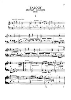 Eklogen, B.103: Eklogen by Antonín Dvořák