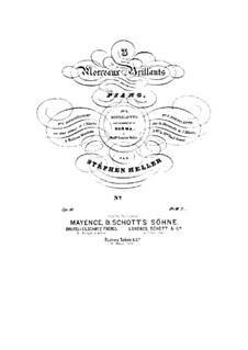 Drei brillante Stücke, Op.10: Drei brillante Stücke by Stephen Heller