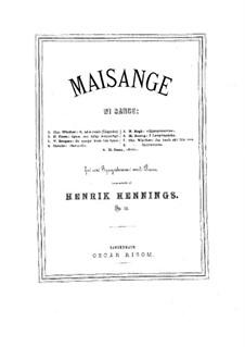 Maisange, Op.13: Maisange by Henrik Hennings