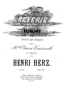 Rêverie-nocturne, Op.194: Rêverie-nocturne by Henri Herz