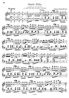 Shawl-Polka, Op.343: Shawl-Polka by Johann Strauss (Sohn)
