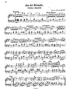 Aus der Heimat, Op.347: Aus der Heimat by Johann Strauss (Sohn)