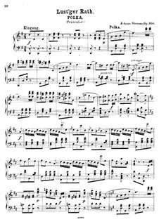 Lust'ger Rath, Op.350: Lust'ger Rath by Johann Strauss (Sohn)