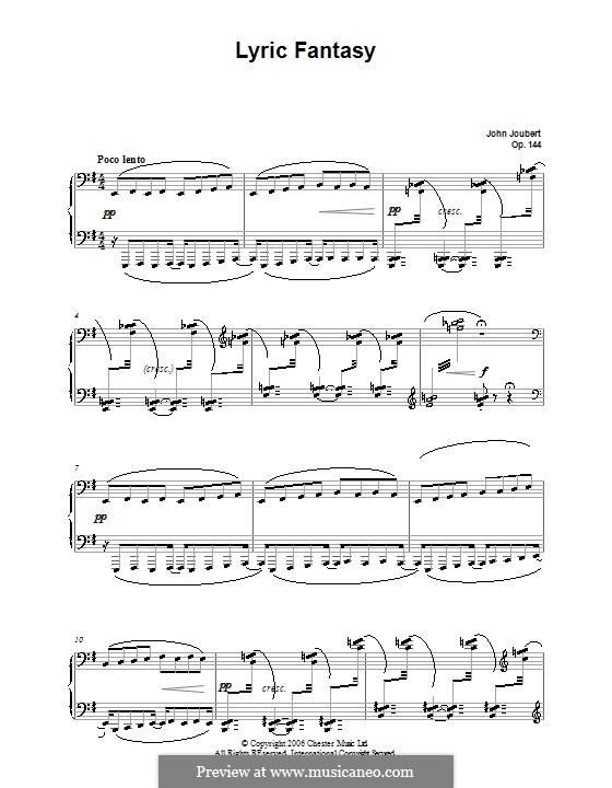 Lyrische Fantasie, Op.144: Lyrische Fantasie by John Joubert