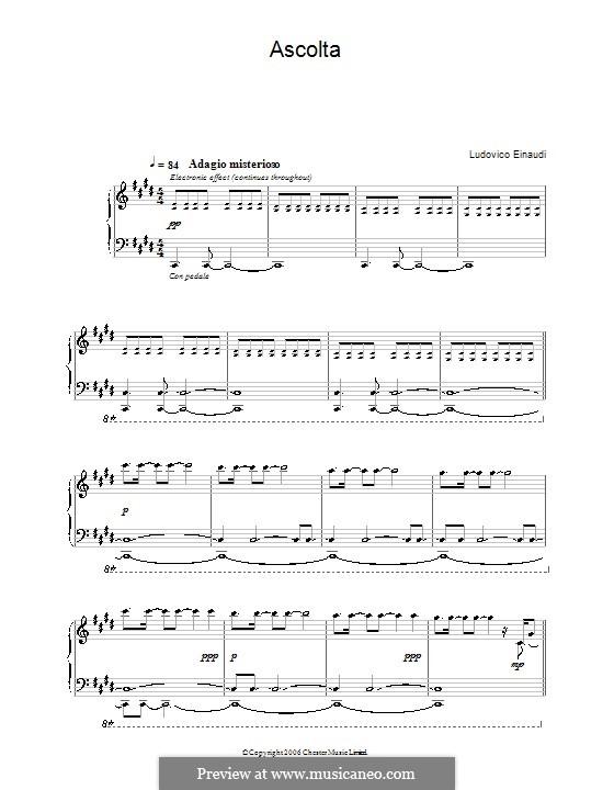 Ascolta: Für Klavier by Ludovico Einaudi