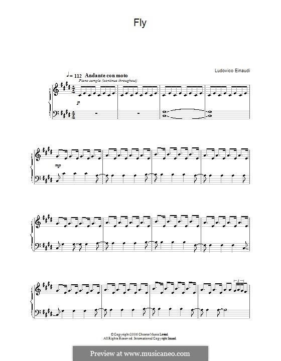 Fly: Für Klavier by Ludovico Einaudi