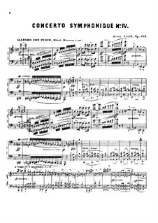 Concerto Symphonique No.4, Op.102: Concerto Symphonique No.4 by Henry Litolff