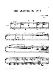Abendglocken, Op.85: Abendglocken by Camille Saint-Saëns