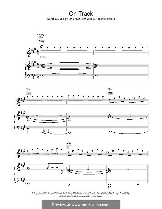 On Track: Für Stimme und Klavier (oder Gitarre) by Robert Maxfield, Tim Wills