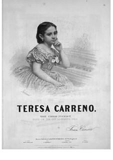 Gottschalk Waltz: Für Klavier by Teresa Carreño