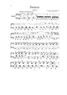 Fantasia 'From Dark into Light', Op.53: Fantasia 'From Dark into Light' by Alexander Glazunov