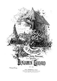 Impressions de Campagne, Op.123: Impressions de Campagne by Benjamin Godard