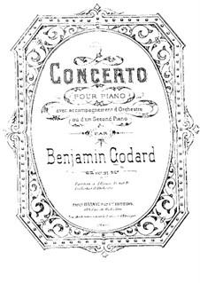 Konzert für Klavier und Orchester, Op.31: Bearbeitung für zwei Klaviere, vierhändig by Benjamin Godard