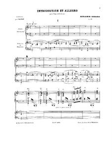 Introduktion und Allegro, Op.49: Introduktion und Allegro by Benjamin Godard