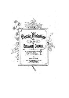 Fantastische Sonate für Klavier, Op.63: Fantastische Sonate für Klavier by Benjamin Godard