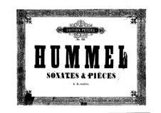 Sonate für Klavier, vierhändig in Es-Dur, Op.51: Sonate für Klavier, vierhändig in Es-Dur by Johann Nepomuk Hummel