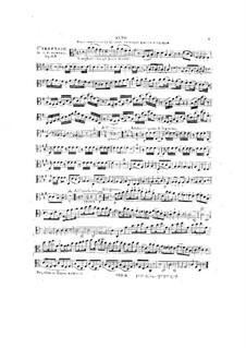 Grosse Serenade Nr.1, Op.63: Bratsche, Cello, Gitarre und Blasinstrumentestimmen by Johann Nepomuk Hummel