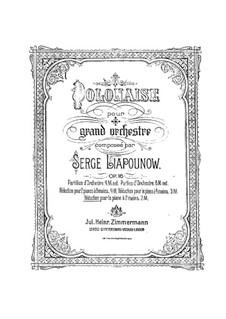 Polonäse, Op.16: Polonäse by Sergei Lyapunov
