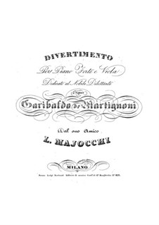 Divertissement: Divertissement by Luigi Majocchi