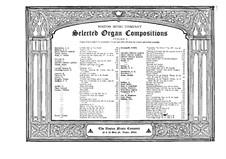 Requiem für Orgel, Op.75: Requiem für Orgel by Otto Malling