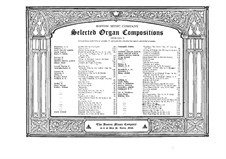 Bei kirchlichen Handlungen, Op.88: Bei kirchlichen Handlungen by Otto Malling