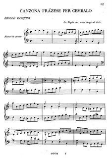 Canzona Frãzese per Cembalo: Canzona Frãzese per Cembalo by Ercole Pasquini