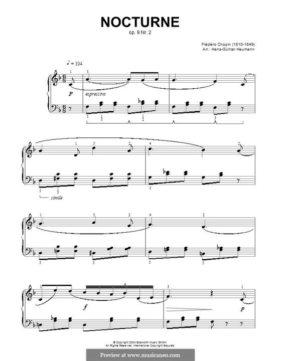 Nr.2 in Es-Dur: Version in F-Dur by Frédéric Chopin