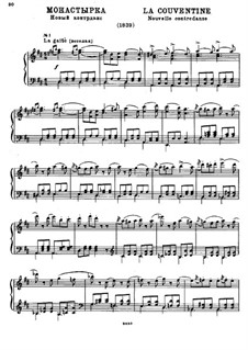 La Conventine: Für Klavier by Michail Glinka